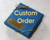 Custom Order for David Orr - 37 handmade cast knobs in Marigold Yellow