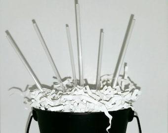 Clear Acrylic Cake Pop Sticks