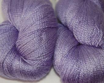 Studio June Yarn Cashmere Silk Lace - Violet