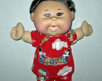 Cabbage Patch, Naptime Babyland, Doll Clothes, Mickey Mouse, Minnie Mouse, Pluto, Goofy,  12 13   inch Doll Clothes,  Fun to Feed