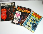 Triple Set Crime Comics - Murder Tales - Killers - Law - True Crime - DC Comic - Highly Collectible