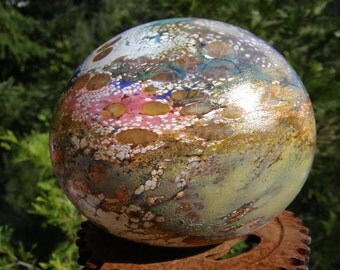 Garden Art -- Glass Balloon