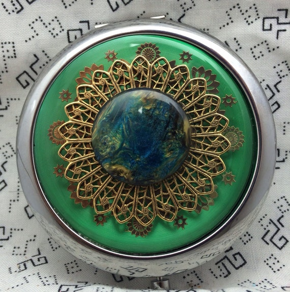 Compact Mirror Dragons Breath Bridesmaid Gift Comes With Protective Pouch