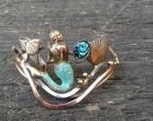 Mermaid abalone bracelet