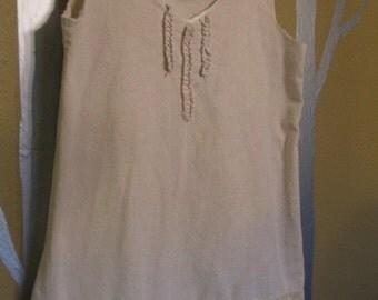 linen lagenlook plus size xl tunic womens clothing