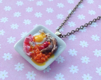 Proper Fry Up Necklace
