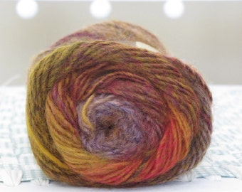 Destash Yarn,Lion Brand Amazing- Mesa- wool/acrylic blend Yarn