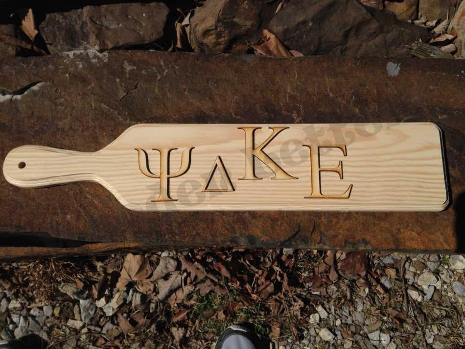 GREEK Letters Laser Cut 1 8 Inch Wood