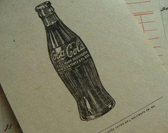 Very Vintage Antique Unused Coca-Cola Bottling Co. Order Bills Invoices Receipts Ephemera