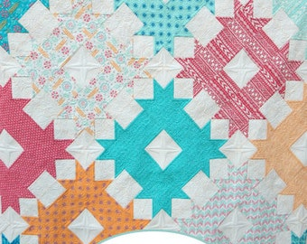 Paper Pattern for the Dream Catcher Quilt