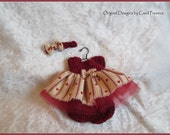 5 - 6 Inch VALENTINE DRESS SET ~ Original Design's by Carol Prentice