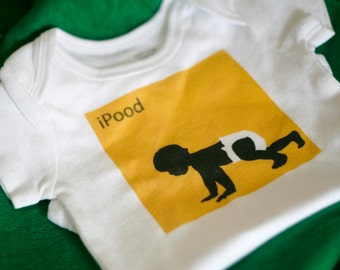 iPood Baby Bodysuit (sizes newborn to 24 months)