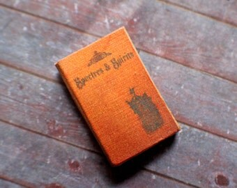 Miniature Book --- Spectres and Spirits