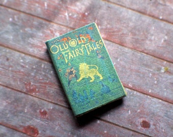 Miniature Book --- Old Old Fairy Tales