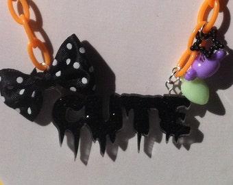 SALE - Halloween Cute Necklace