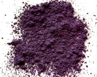 "Purple Shimmer Eye Shadow - ""Eggplant"" - Mineral Makeup - Eyeshadow"