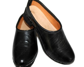 Tradicional of Minho wore by the men in the field handmade man clog n34