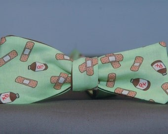 Medical on Green  Bow tie