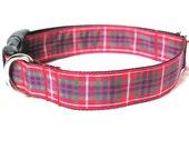 Fraser Tartan Large Dog Collar