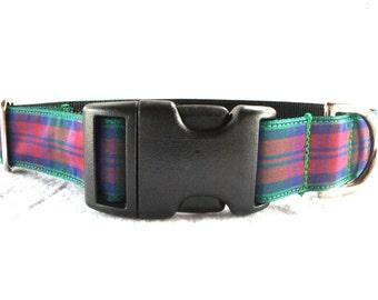 SALE! Lindsay Tartan Large Dog Collar
