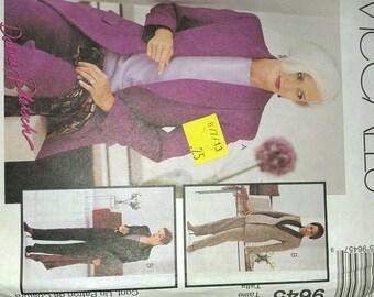 Shawl Collar Jacket and Pants 20 McCalls 9645