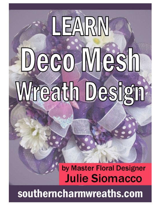 How to Make a Mesh Wreath, How to Make a Deco Mesh Wreath, Deco Mesh Wreath Tutorial, How to Ship a Wreath