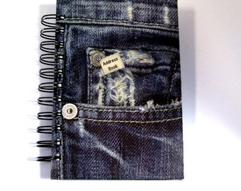 Address Book - Denim