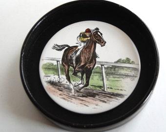 Vintage Race Horse Home Decor Accent
