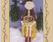 Sweet Dreams Pattern #501 Christmas is for Sharing 36 inch Santa Doll with Goodie Basket