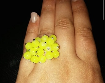 Yellow Bubble Ring