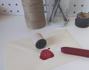 Handmade Ampersand Wax Seal Stamp