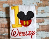 Mickey Mouse Birthday Shirt - Disney Trips