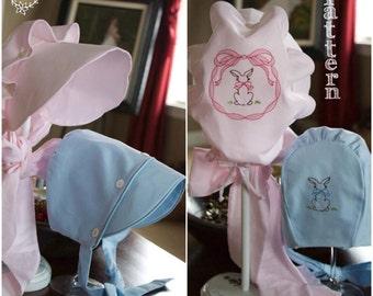 Vintage-inspired Brer Rabbit's Button Bonnet ePattern for Boys & Girls