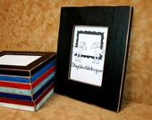 8.5x11 Picture Frame, Colored frame, weathered frame, Distressed frame, Colorful frame, 8-1/2x11 frame, Document frame, Certificate frame