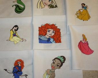 Disney Princess Quilt Blocks Set C