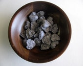 Wildflower Seed Bomb Heart Wedding Favors - Charcoal Grey Seed Favors - Seed Bombs
