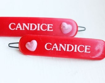 Vintage Hair Clips - Candice