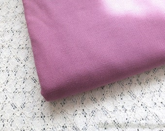 Last Piece SALE Clearance 1 Yard Solid Fabric, Neat Retro Purple Color- Japanese Jacquard Cotton Fabric(1 Yard)