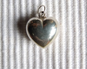 Vintage //// Sterling Silver Heart Charm