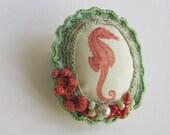 Red Seahorse- Seashore souvenir