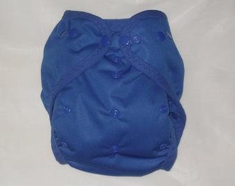 Royal Blue PUL Diaper Cover