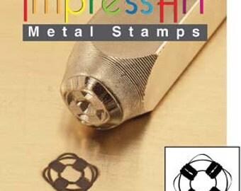 Metal Design Stamp By Impressart 6mm Life Saver