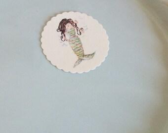 Mermaid Stickers- Small