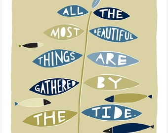 All The Most Beautiful Things - Fine Art Print