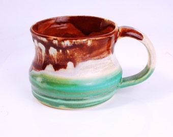 16 oz Mug Ceramic Colorful Ceramic Mug Large