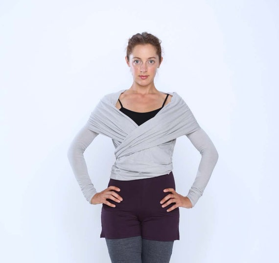 On Sale 50% Multi Tie Wrap Sweater Yoga Clothes Active