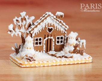 Mto Basket Cake Filled With Gingerbread Treats By