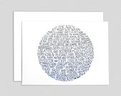 Carl Sagan pale blue dot note card set