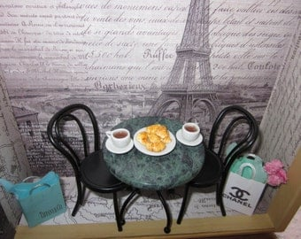 Parisian Cafe Scene