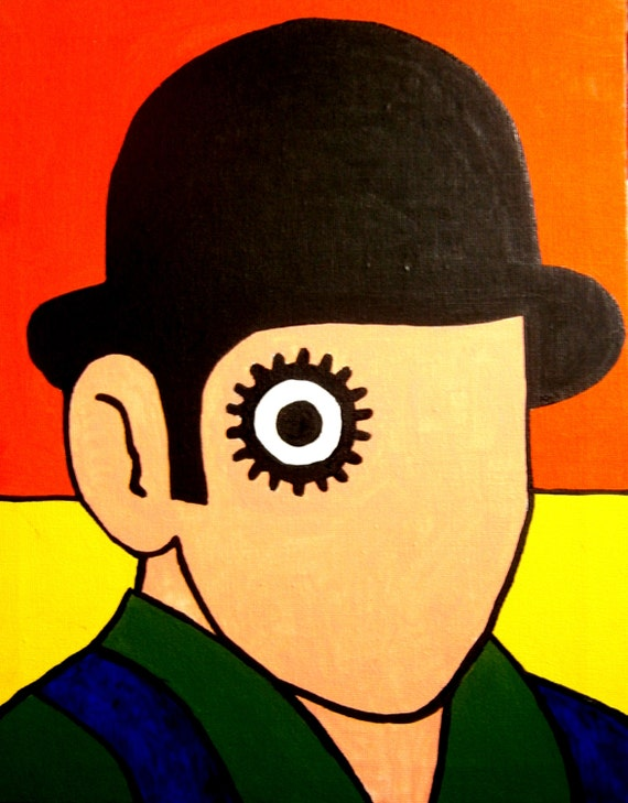 What is a clockwork orange book about-9652